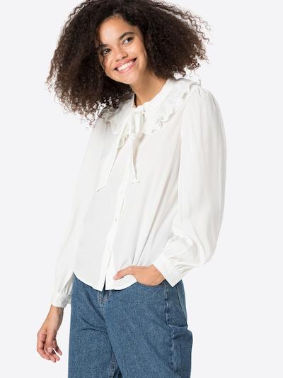 ONLY Blouse 'GRACE' in de kleur Wit, Modelweergave