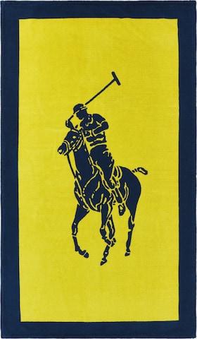 Ralph Lauren Home Towel 'POLO' in Yellow