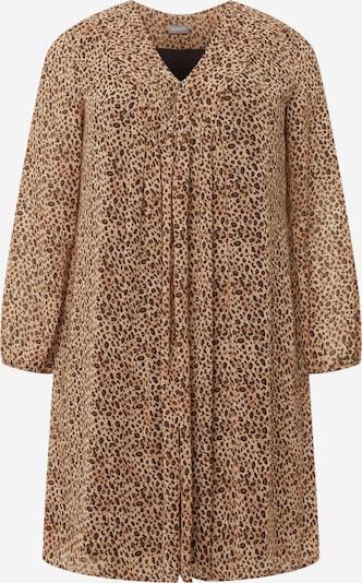 SAMOON Robe en beige / marron / noir, Vue avec produit
