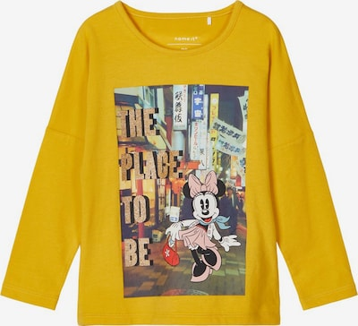 NAME IT Disney Minnie Mouse Longsleeve in gelb, Produktansicht