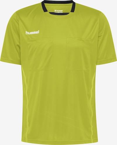 Hummel Shirt in limone / weiß, Produktansicht