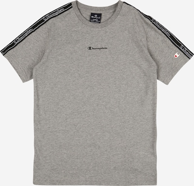Champion Authentic Athletic Apparel T-Shirt in grau / schwarz, Produktansicht