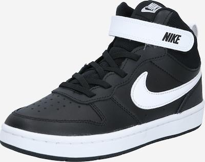 Nike Sportswear Schuhe 'Court Borough Mid 2' in schwarz / weiß, Produktansicht