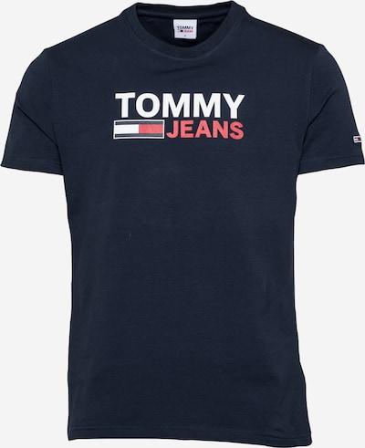 Tommy Jeans Tričko - námornícka modrá / grenadínová / biela, Produkt