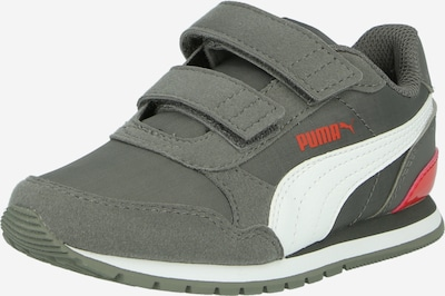 PUMA Sneaker 'ST Runner v2 NL V PS' in dunkelgrau / knallrot / weiß, Produktansicht