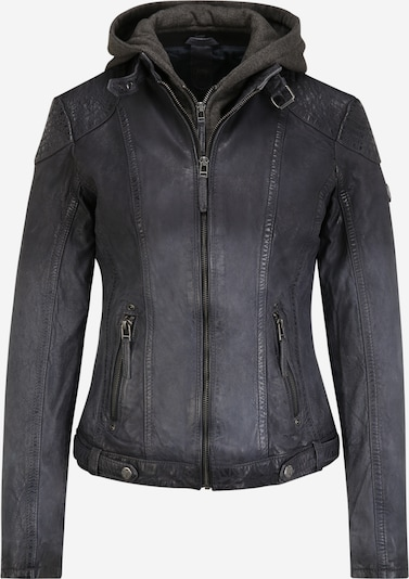 Gipsy Between-season jacket 'Cascha' in Navy / Grey mottled, Item view