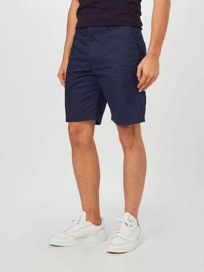 WOOD WOOD Chino hlače 'Jonathan' | marine barva, Prikaz modela