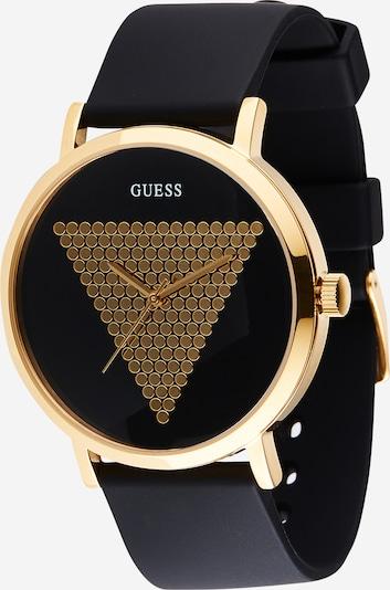 Analoginis (įprasto dizaino) laikrodis 'Imprint' iš GUESS , spalva - Auksas / juoda, Prekių apžvalga