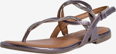 TAMARIS T-bar sandals in Silver grey, Item view