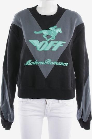 Off-White Sweatshirt  in M in grau / schwarz, Produktansicht