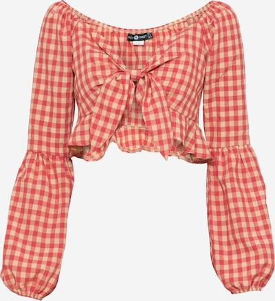 Daisy Street Bluse 'MILLIE' in creme / dunkelorange, Produktansicht