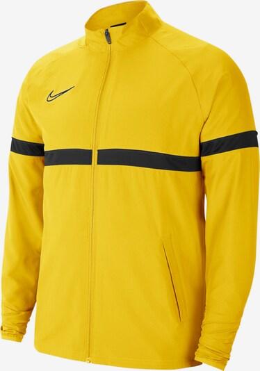 NIKE Jacke in gelb / schwarz, Produktansicht