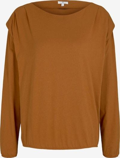 TOM TAILOR Shirt in karamell, Produktansicht