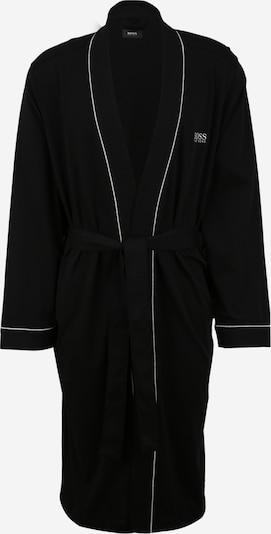 BOSS Casual Bademantel in schwarz / weiß, Produktansicht