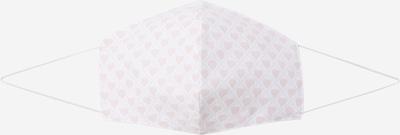Silk & Pearls Stoffmaske in rosa / weiß, Produktansicht