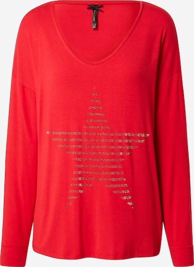 Key Largo Shirt in rot / silber, Produktansicht