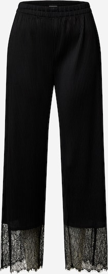 Pantaloni 'Levinia' EDITED pe negru, Vizualizare produs