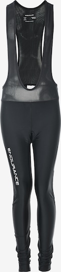 ENDURANCE Radhose 'Poway Jr. Long Cycling Tights W/Bib XQL' in schwarz, Produktansicht