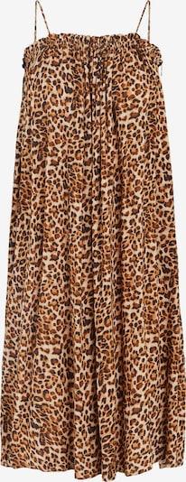 PIECES Vestido de verano 'Glinda' en beige / marrón / negro, Vista del producto