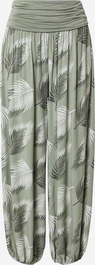 Hailys Hose 'Jasmin' in khaki / pastellgrün / weiß, Produktansicht