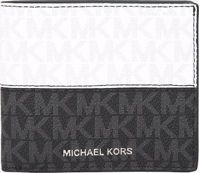Michael Kors Portemonnee in de kleur Zwart / Wit, Productweergave