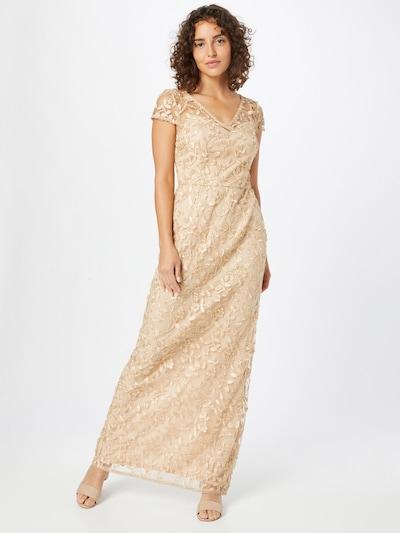 Rochie de seară Adrianna Papell pe auriu, Vizualizare model