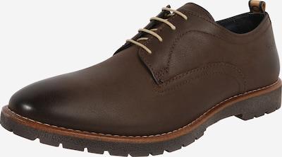 Pantofi cu șireturi 'AVERY' base London pe castaniu, Vizualizare produs