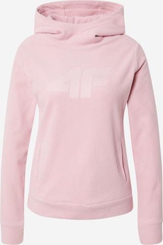 Pullover sportivo di 4F in rosa