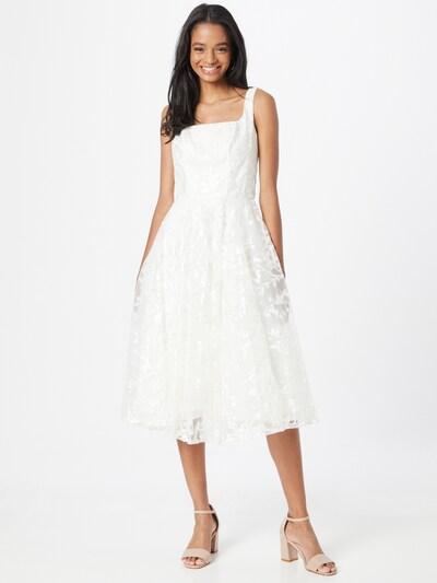 Chi Chi London Kleid in weiß, Modelansicht