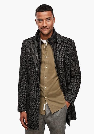 s.Oliver BLACK LABEL Mantel in dunkelgrau, Modelansicht