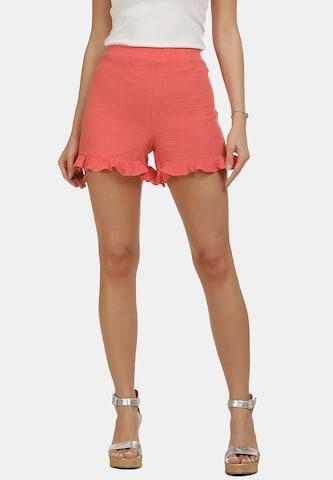 IZIA Shorts in Orange