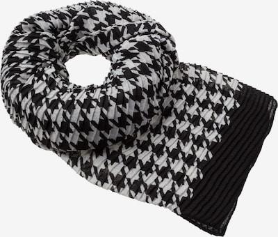 zero Schal in schwarz / weiß, Produktansicht
