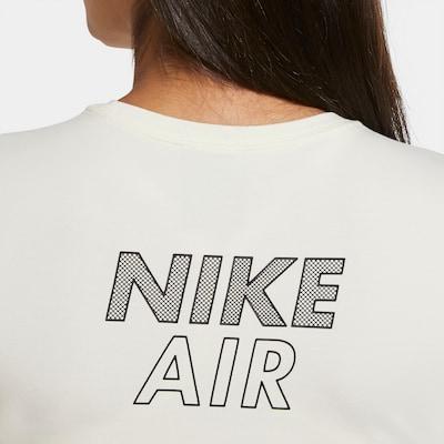 Nike Sportswear T-Shirt in creme / anthrazit, Produktansicht