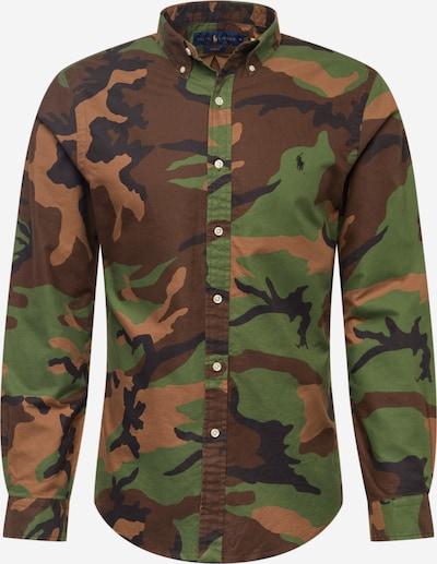 Polo Ralph Lauren Overhemd in de kleur Bruin / Donkergroen / Rosé, Productweergave