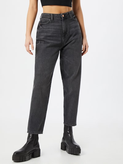 Jeans 'June' Noisy may pe denim negru, Vizualizare model
