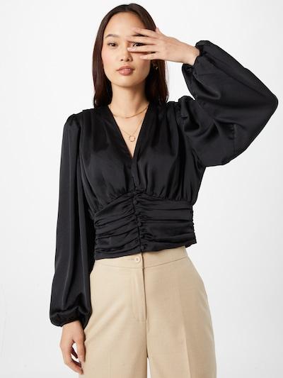 Bluză 'Victoria' Gina Tricot pe negru, Vizualizare model