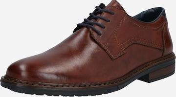 Pantofi cu șireturi de la RIEKER pe maro