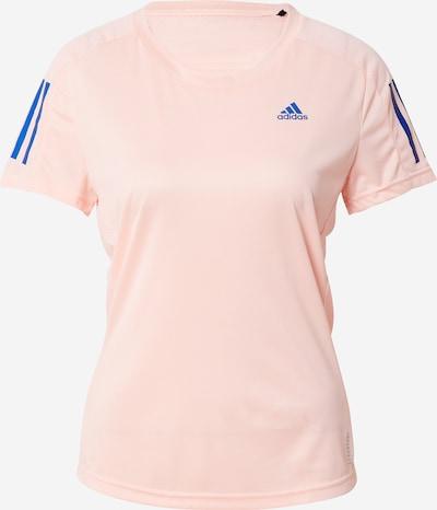 ADIDAS PERFORMANCE Funktionsshirt 'Own the Run' in blau / rosa, Produktansicht