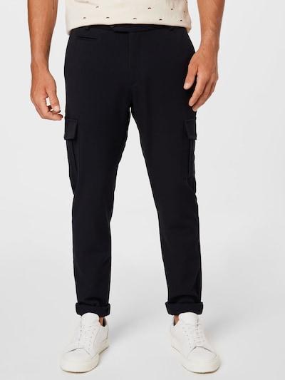 Les Deux Pantalon cargo 'Como' en bleu marine, Vue avec modèle