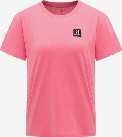 Haglöfs Functioneel shirt 'Camp' in de kleur Pink / Zwart, Productweergave