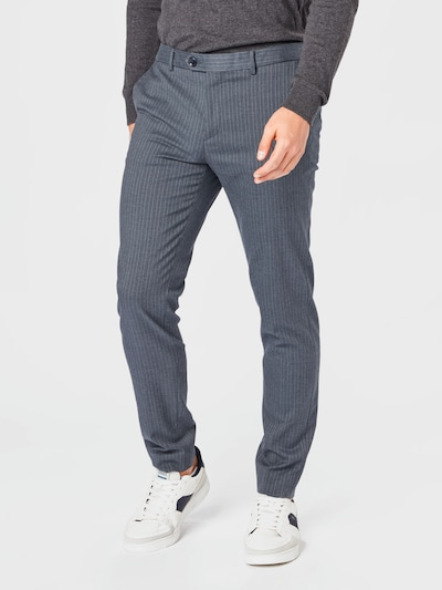 SCOTCH & SODA Chino kalhoty 'MOTT' - tmavě šedá / bílá, Model/ka