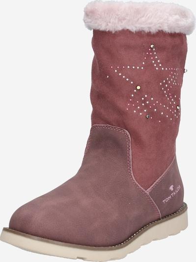 Sniego batai iš TOM TAILOR , spalva - kremo / rožinio aukso spalva / uogų spalva, Prekių apžvalga