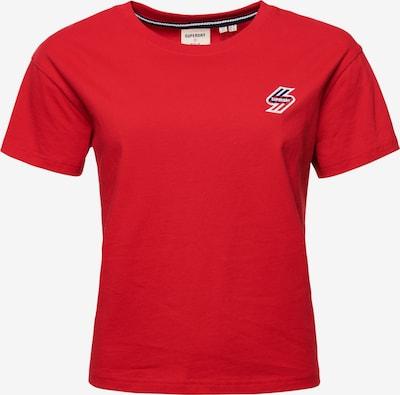 Superdry Shirt in de kleur Knalrood: Vooraanzicht
