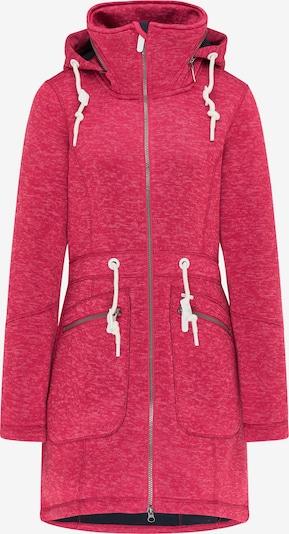 ICEBOUND Gebreide mantel in de kleur Pink, Productweergave