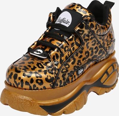 Sneaker low Buffalo London pe maro coniac / negru, Vizualizare produs