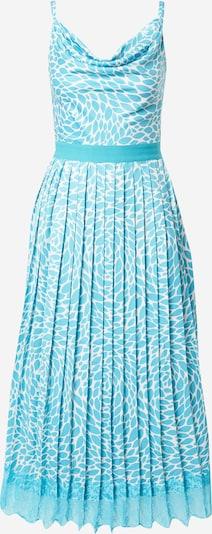 Little Mistress Kleid in türkis / weiß, Produktansicht