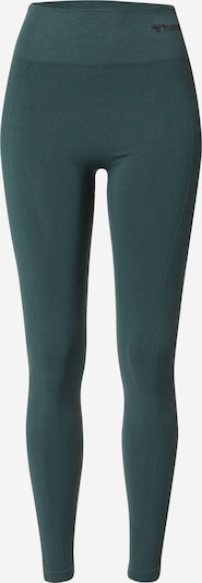 Hummel Workout Pants 'TIF' in Dark green / Black, Item view