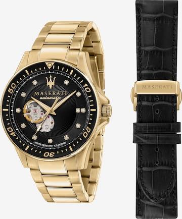 Maserati Uhr 'SFIDA' in Gold