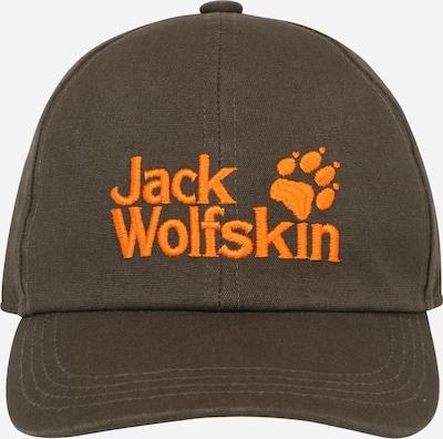 JACK WOLFSKIN Gorra en verde oscuro / naranja, Vista del producto