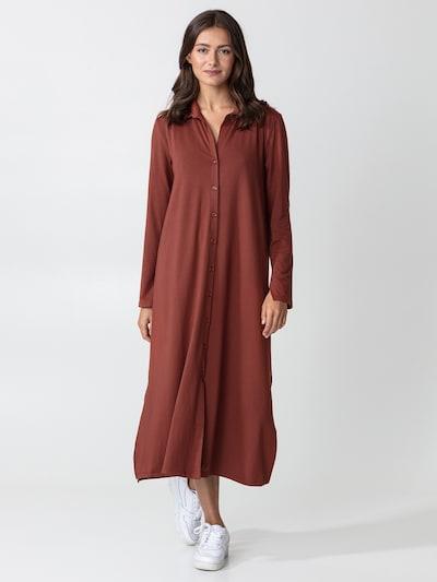 Indiska Kleid 'Sander' in braun, Modelansicht